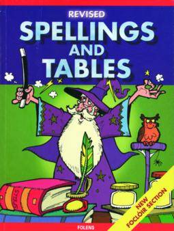 Cover of Folens Revised Spellings & Tables Book