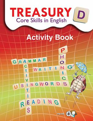 Cover of Treasury D - Core Skills In English 4th Class