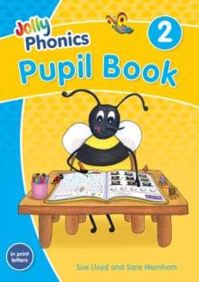 Cover of Jolly Phonics Pupil Book 2: in Print Letters (British English edition)