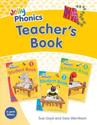 Cover of Jolly Phonics Teacher's Book: In Print Letters (American English edition) - Sara Wernham - 9781844147274