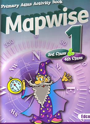 Cover of Mapwise 1 3rd & 4th Class