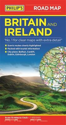 Cover of Philip's Britain and Ireland Road Map - Philip's Maps - 9781849075428