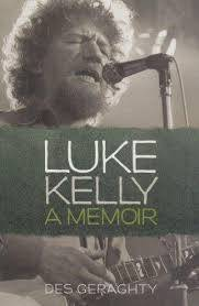 Cover of Luke Kelly A Memoir - Des Geraghty - 9781855940901