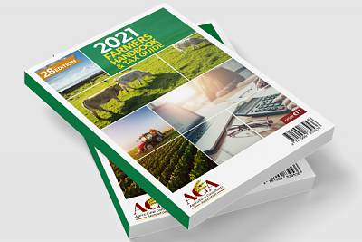 Cover of Farmers Handbook and Tax Guide 2021