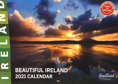 Cover of Beautiful Ireland A4 2021 Calendar - Heartland Calendars - 9786100001840