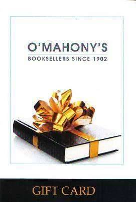Cover of O'Mahony's Gift Card - XP1349